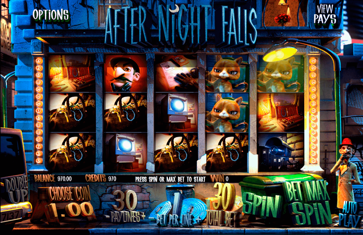 after night falls betsoft آلة السلوت
