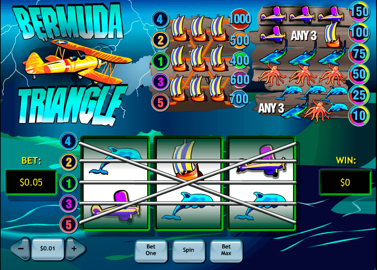 bermuda triangle playtech آلة السلوت