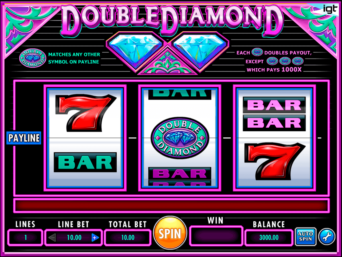 double diamond igt آلة السلوت