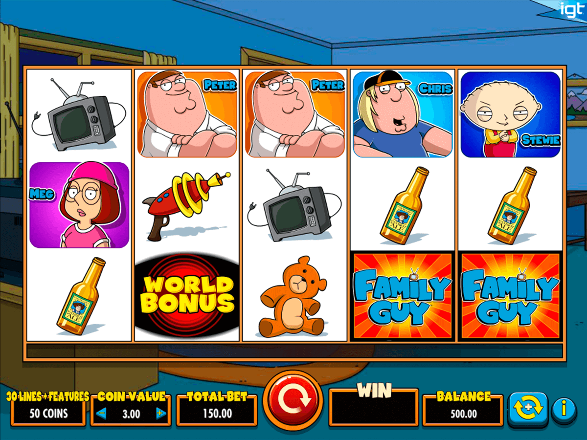 family guy igt آلة السلوت