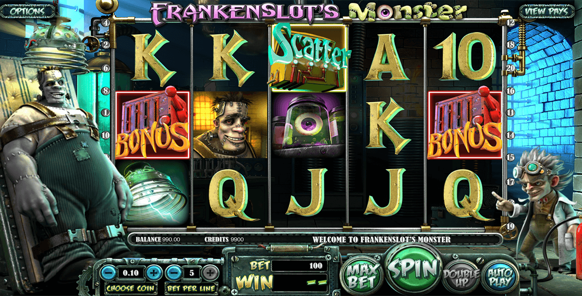 frankenslots monster betsoft آلة السلوت