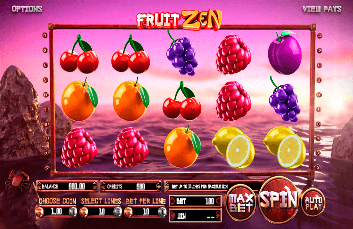fruit zen betsoft آلة السلوت