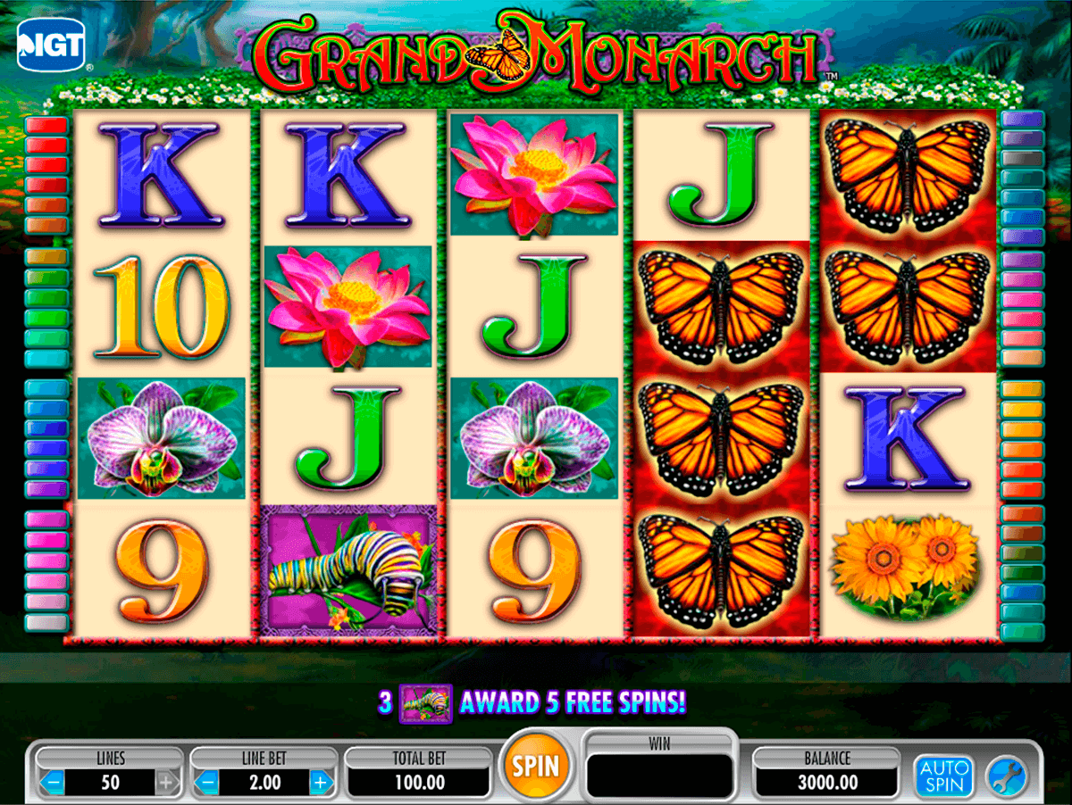 grand monarch igt آلة السلوت