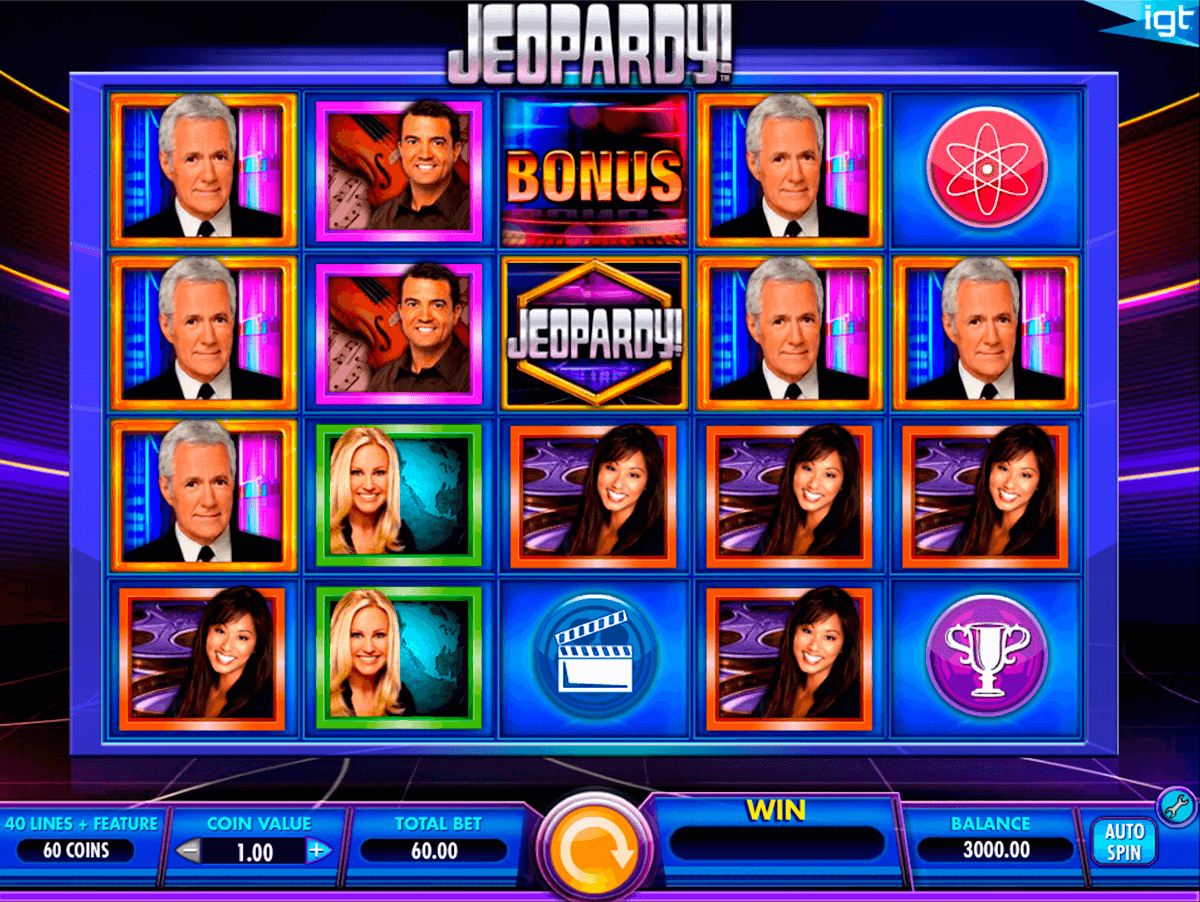 jeopardy igt آلة السلوت