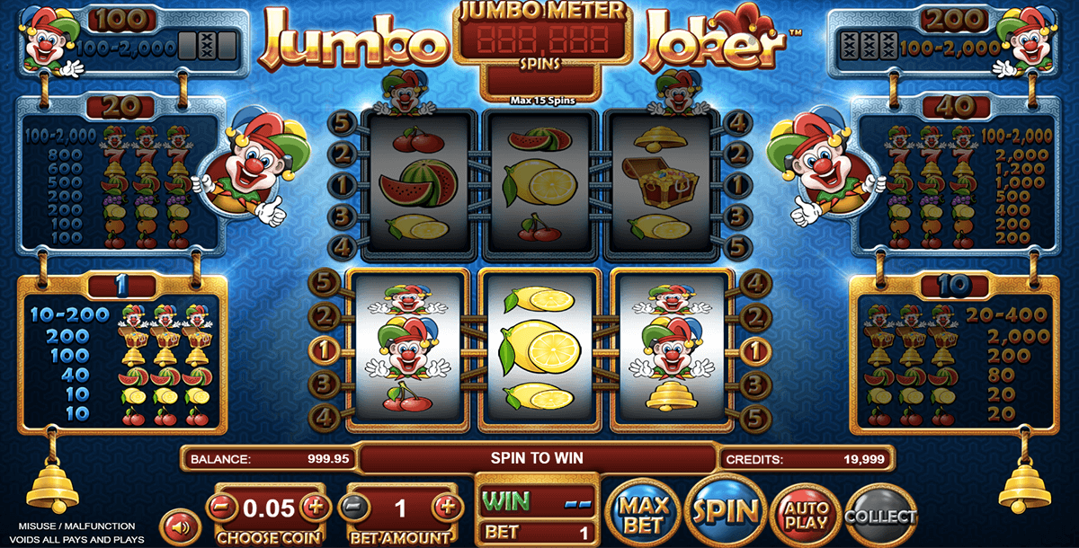 jumbo joker betsoft آلة السلوت