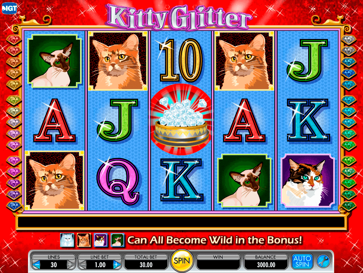 kitty glitter igt آلة السلوت