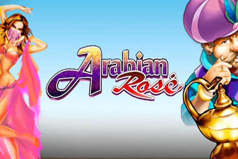 logo arabian rose microgaming لعبة كازينو
