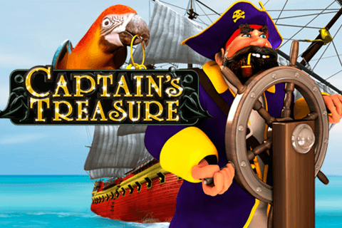 logo captains treasure playtech لعبة كازينو