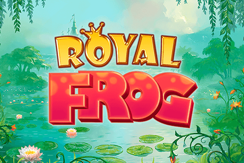 logo royal frog quickspin لعبة كازينو