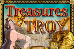logo treasures of troy igt لعبة كازينو