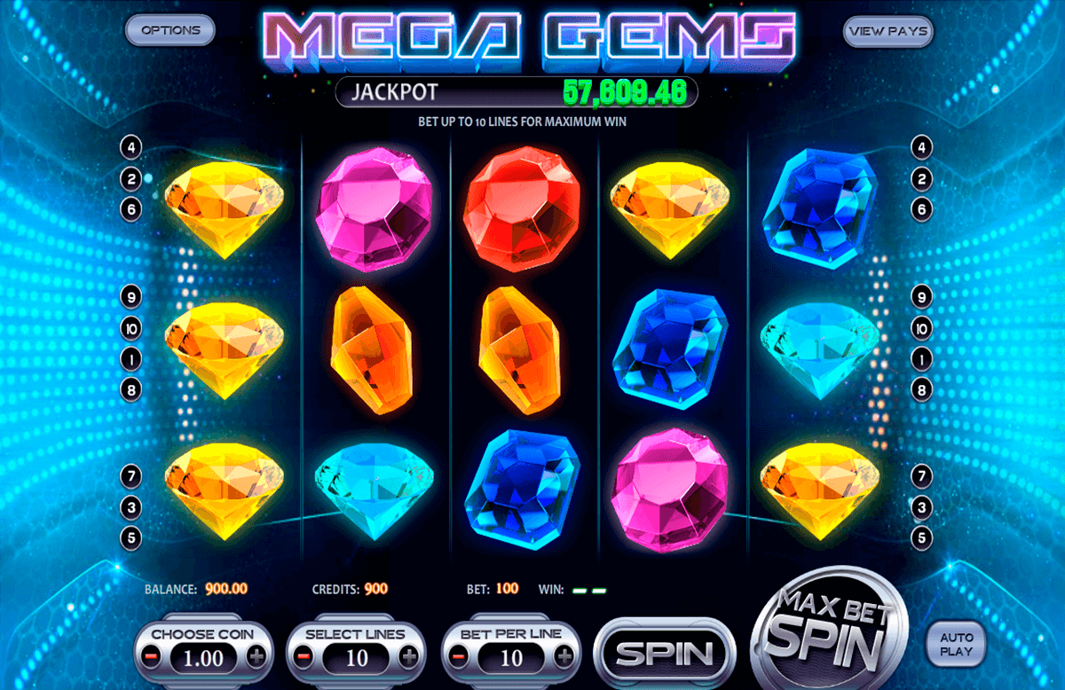 mega gems betsoft آلة السلوت