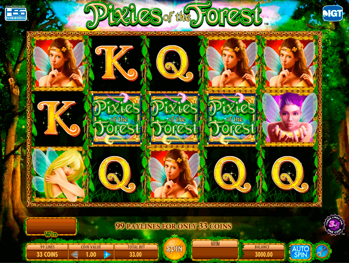 pixies of the forest igt آلة السلوت