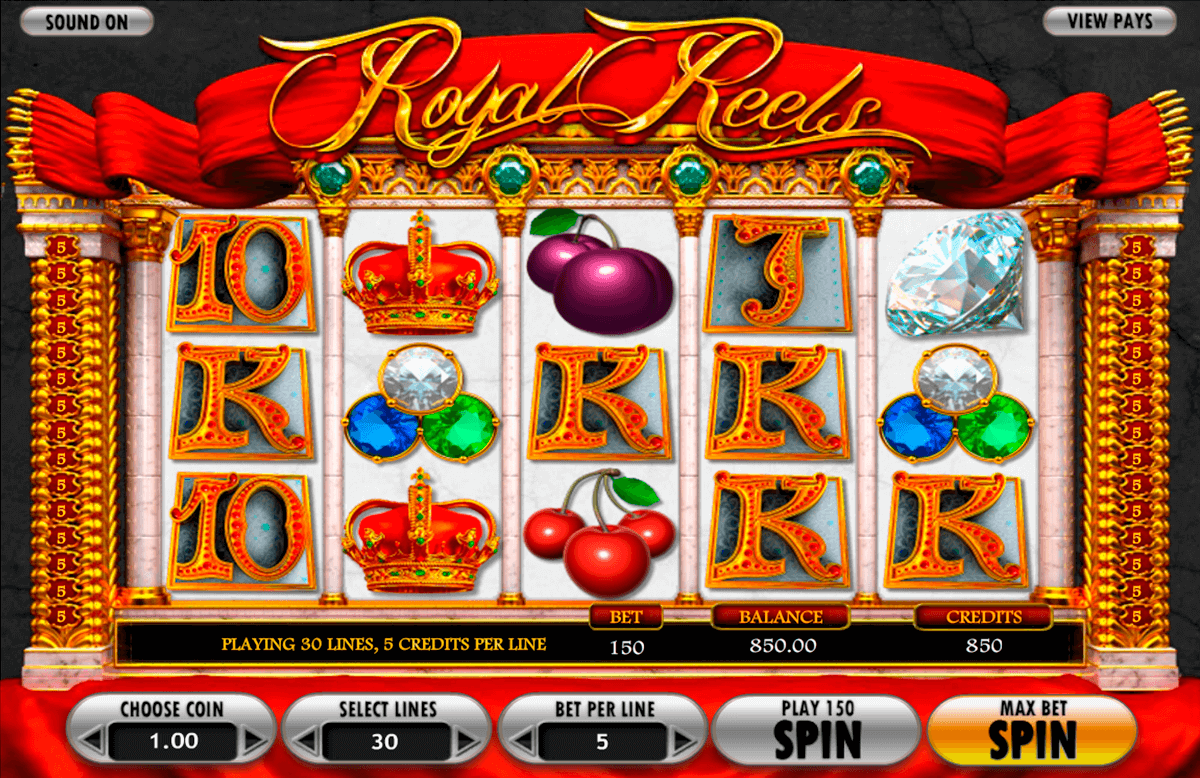 royal reels betsoft آلة السلوت