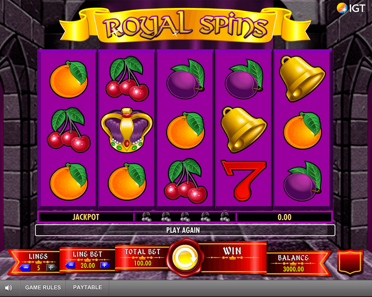 royal spins igt آلة السلوت