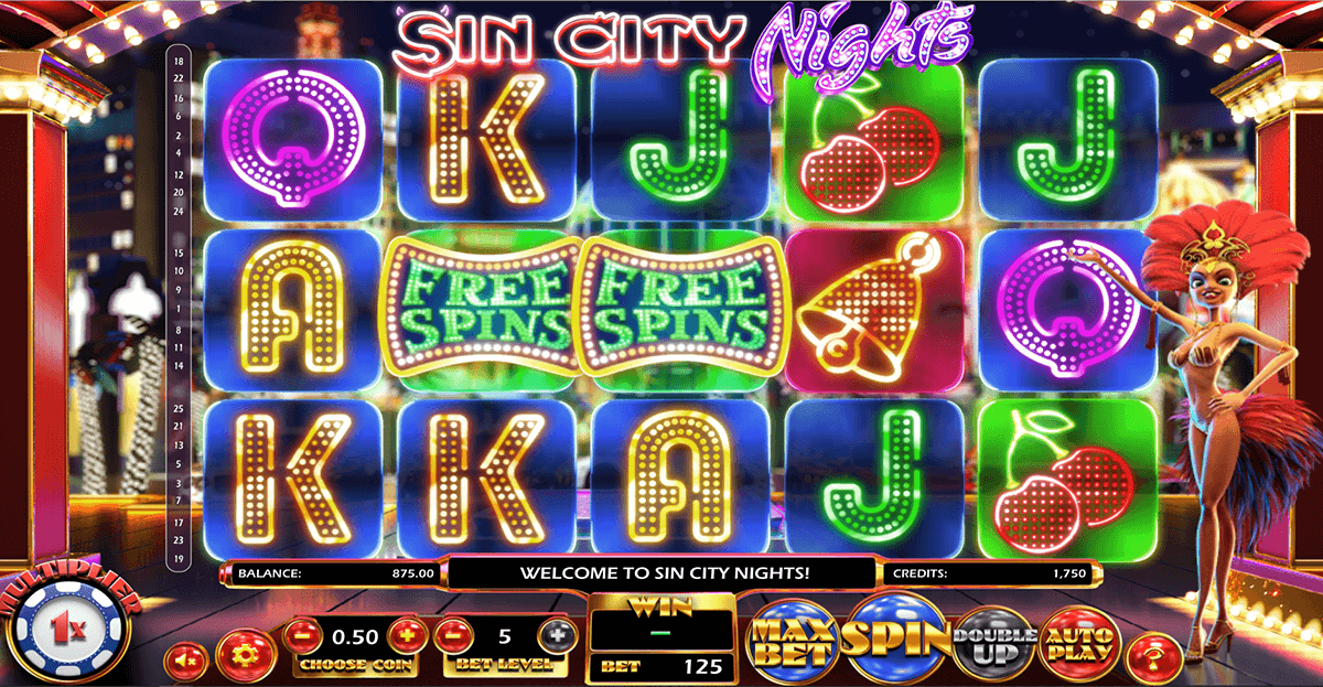 sin city nights betsoft آلة السلوت