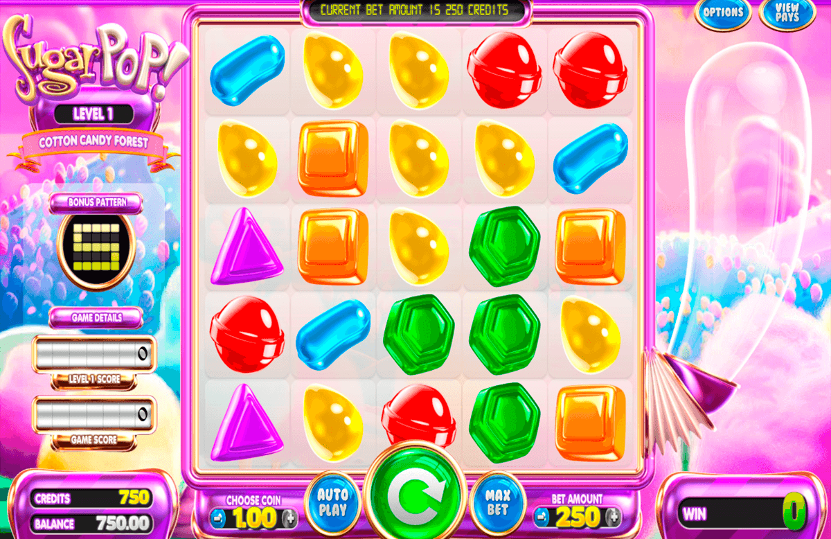 sugar pop betsoft آلة السلوت