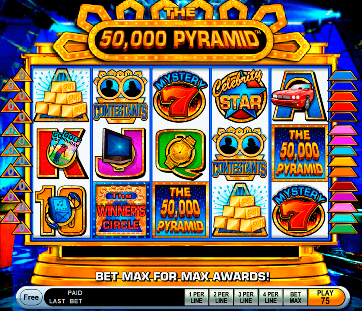 the 50000 pyramid igt آلة السلوت