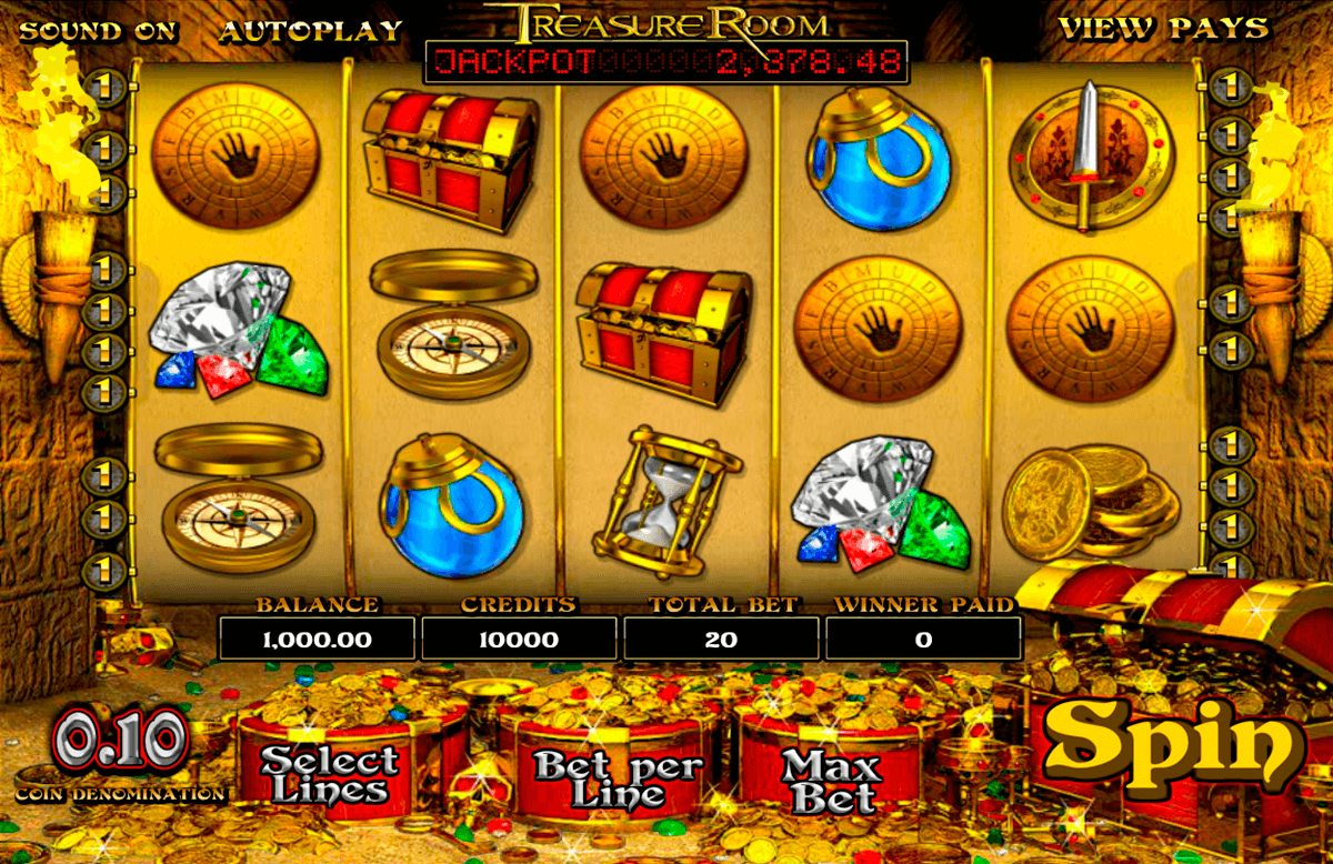 treasure room betsoft آلة السلوت