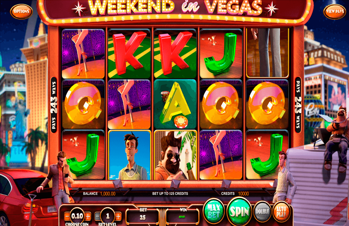 weekend in vegas betsoft آلة السلوت
